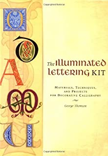 The Illuminated Lettering Kit: Materials,Techniques, & Projects for Decrtv Calligraphy (Jump-Start Creativity) (0811844889) | Amazon price tracker / tracking, Amazon price history charts, Amazon price watches, Amazon price drop alerts