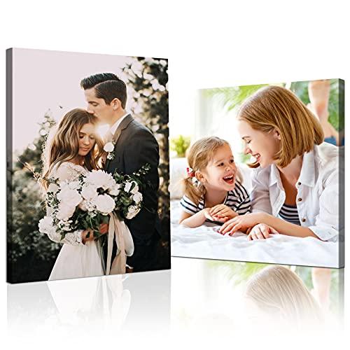 Stampa su tela personalizzata senza cornice stampa foto su tela personalizzata Personalizza le tue foto su tela quadro Personalizza con la tua foto decorazione della parete della casa 60×60cm