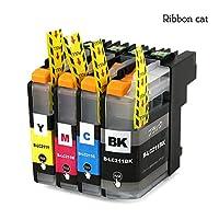 リボンキャット ブラザー互換インク 4色セット LC211