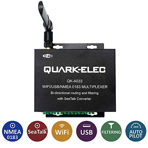 Quark-elec QK-A033 Multiplexor bidireccional con convertidor SeaTalk