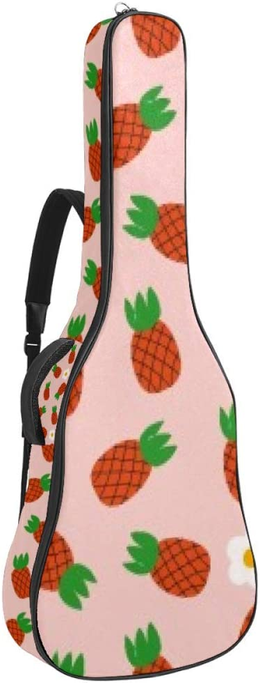 Dealing full price reduction Guitar Gig Bag Department store Waterproof Zipper Soft Acou Backpack Bass