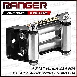 Ranger ATV Winch Roller Fairlead