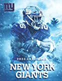 New York Giants 2022 Calendar: 18 Monthly Calendar Planner for sport fans with large grid for note, scheduling, organizing !
