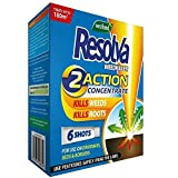 Resolva Weed Killer 2 Action Concentrate Liquid Shots 6 Pack