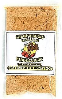 Wingredient   Gourmet Chicken Wing Sauce Starter Mix and Rub   Award Winning   Hot Sauce   Buffalo Sauce   Wing Sauce   Wi...