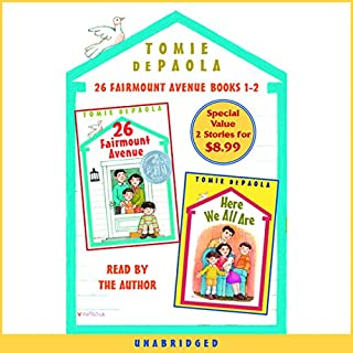 26 Fairmount Avenue, Books 1 and 2 audiobook cover art
