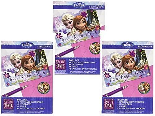 70% de descuento Disney Frozen Birthday Party Invitations with Envelopes (24 (24 (24 Count) by Party Supplies  Precio por piso