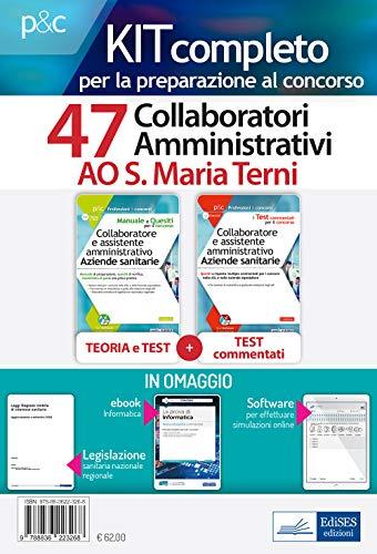Kit concorso 47 collaboratori amministrativi Ao S. Maria Terni