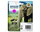 1x XL cartuccia d' inchiostro originali per Epson Expression Photo XP 850, C13T24334010–Magenta -