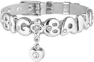 FishUS Unisex BTS Merch Member Bracelet Bangtan Boys 방탄소년단Army Kpop Stainless Steel Bracelet Jungkook, Jimin, V, Suga, Jin,Bracelet Best Gift for The Army