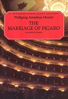 The Marriage of Figaro (Le Nozze Di Figaro): Vocal Score by Wolfgang Amadeus Mozart (1986-11-01)