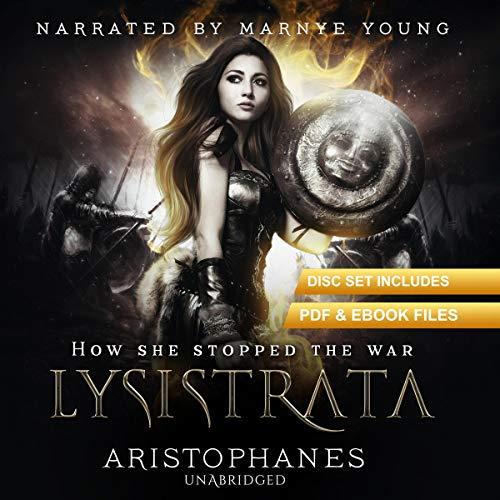 Lysistrata audiobook cover art