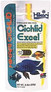 Hikari 8.8-Ounce Cichlid Excel Floating Pellets for Pets, Mini