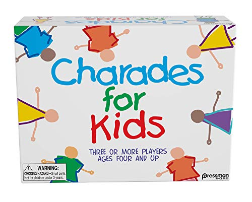 Pressman Charades for Kids -- The  No Reading Required  Family Game, 5