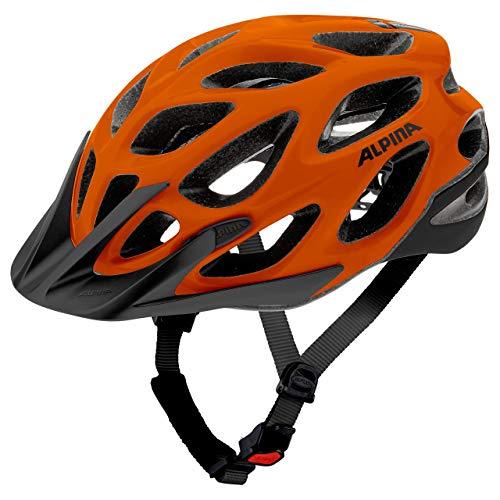 Alpina Sports Unisex– Erwachsene Thunder 2.0 Radhelm, orange, 52-57