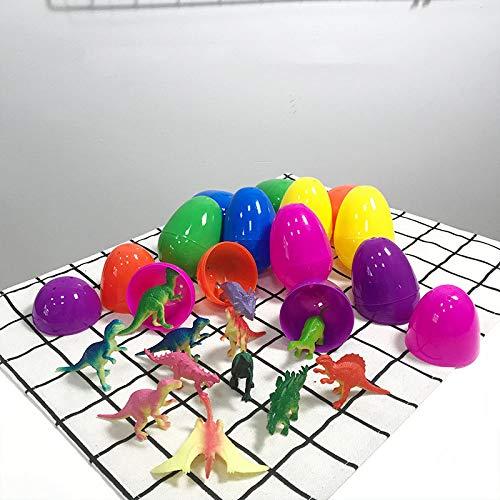 uova di pasqua kinder frozen Uovo di Pasqua Uovo A Sorpresa Trasparente Tirare Indietro Dinosauro Bambino Creativo Conchiglia Aperta 36 Pezzi