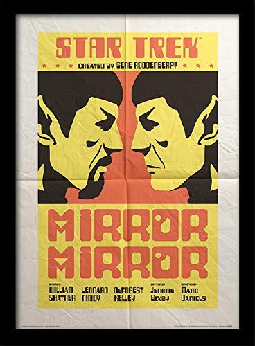Star Trek Memorabilia, Mehrfarbig, 30 x 40cm