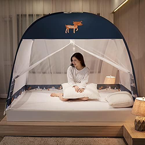EYCIEROT Mosquitero universal de malla mosquitera, cama colgante para cama, toldo para viajes, camping y familia usada