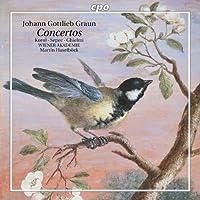 グラウン:ヴァイオリン協奏曲/ヴィオラ・ダ・ガンバ協奏曲