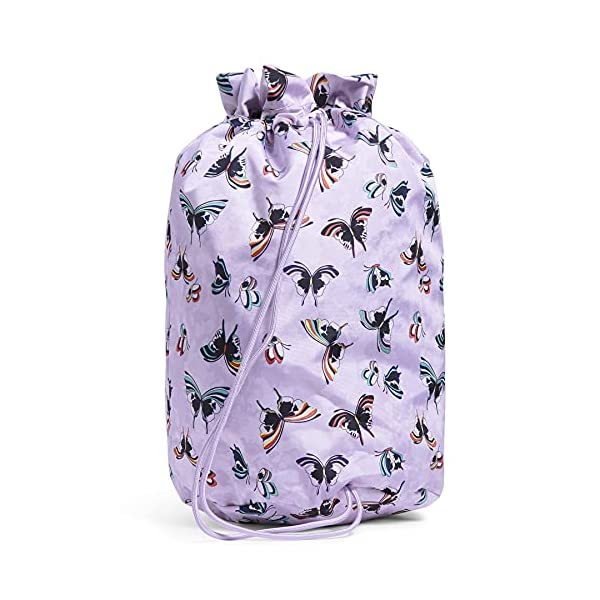 Vera Bradley Recycled Lighten Up Cinch Laundry Bag
