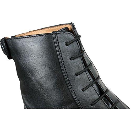 QHP Elastische Schnürsenkel für Reitstiefeletten und Reitstiefel (schwarz)