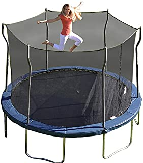 Kinetic Trampolines K12-6BE Trampoline with Enclosure, Blue, 12-Feet