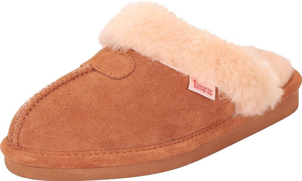 Tamarac by Slippers International Women's Genuine Lambswool Clog Slipper