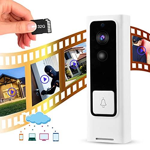 Timbre del video del timbre de la cámara de la detección de movimiento de Pir del intercomunicador, para la seguridad en el hogar(#4, Transl)