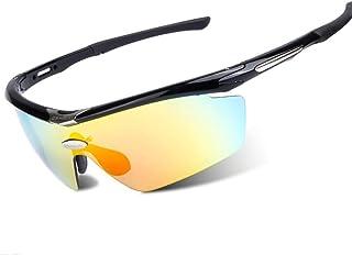 Gafas de Ciclismo Ciclismo Correr Polarizado Gafas de Sol Deportivas A Prueba de Viento Arena Gafas Gafas de Montar Protección UV400 Correr/Ciclismo/Esquí/Snowboard 3 Colores para Hombres Mujere