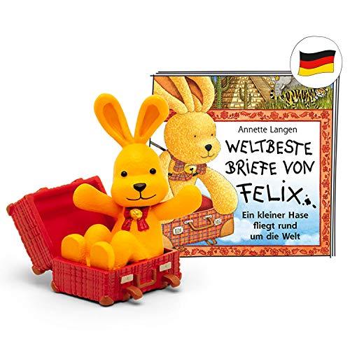 tonies Hörfiguren für Toniebox - Felix - Weltbeste Briefe von Felix - ca. 69 Min. - Ab 5 Jahre -DEUTSCH