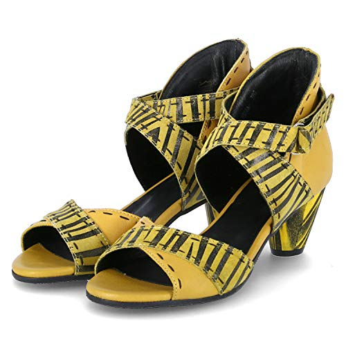Simen Sandaletten Größe 40 EU Gelb (Gelb)