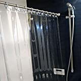 透明シャワーカーテン 135×150 日本製