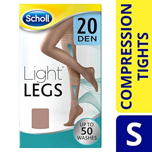 Scholl - Medias de compresión, 20DEN, color carne