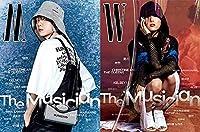 表紙:EXO BAEKHYUN & Hwa Sa/W(ダブルユー)KOREA 3月号B型2021年/【5点構成】/韓国雑誌/KPOP/K-POP/エキソペッキョン/ギムオソク、ファンインヨプ、清河