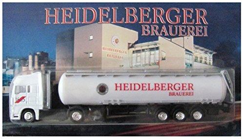 Heidelberger Brauerei Nr.06 - 1603 Bier - Man - Sattelzug mit Tankauflieger