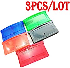 3pcs/lot Hot Sale Multi-Color Replacement For GBA Gameboy Advance Cartridge Housing Game Card Shell Case With Screws
