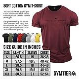 Zoom IMG-2 gymtier maglietta da bodybuilding uomo