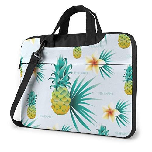 Tropical Plants Pineapple Funnny (53) 15.6 in Laptop Bag Anti-Collision Notebook Computer Protective Cover Handbag Shoulder Bag