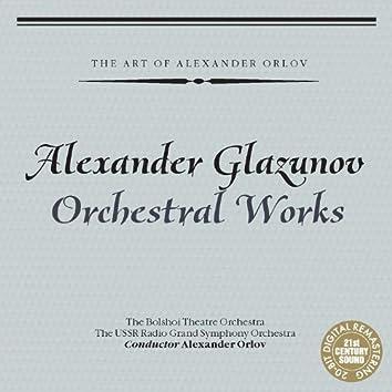 Alexander Glazunov: Orchestral Works