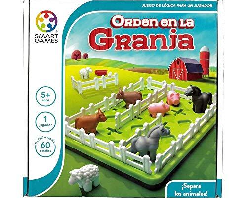 Smart Games - Beställ på gården, utbildningsspel, leksaker för barn, flerfärgad (Ludile SG091ES)