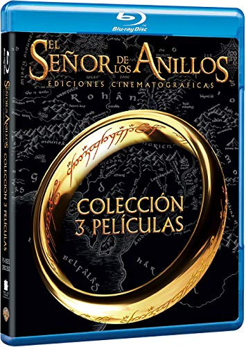 Trilogía El Señor de los Anillos Cinemat [Blu-ray]