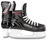Bauer S17Vapor X300Patins de hockey sur glace, largeur R, Homme Enfant femme, noir