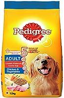 Pedigree Adult Dry Dog Food- Chicken & Vegetables, 1.2kg Pack