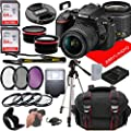 Nikon D5600 DSLR Camera w/NIKKOR 18-55mm f/3.5-5.6G VR Lens + Case + 128GB Memory (26pc Bundle) from Jerry's Photo | Nikon intl