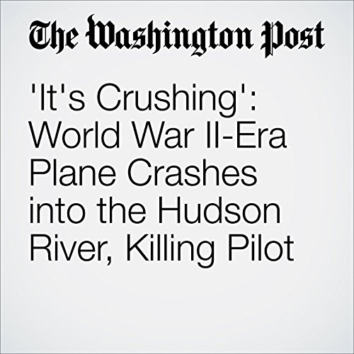 'It's Crushing': World War II-Era Plane Crashes into the Hudson River, Killing Pilot cover art