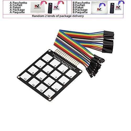 Kapazitive Touch-Tastatur für kapazitives Modul. 16 Schlüssel
