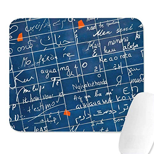 Family Game Office Mousepad Mathe Gleichungen Physik Amino Design Komfortables, rutschfestes rechteckiges Mousepad aus Gummi