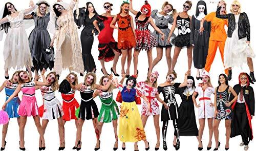 I LOVE FANCY DRESS LTD Disfraces de Familia gótica de Cine y televisión (señor gótico, señora gótica, tío Calvo, Primo Peludo, niña gótica y niño gótico)