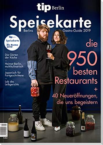 tip Berlin Speisekarte: Berlins Gastro-Guide 2019