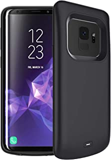 Battery Case for Galaxy S9, FNSON 4700mAh Portable Protective Charging Case Extended Rechargeable Battery Pack Charger Case Compatible with Samsung Galaxy S9 (Black)